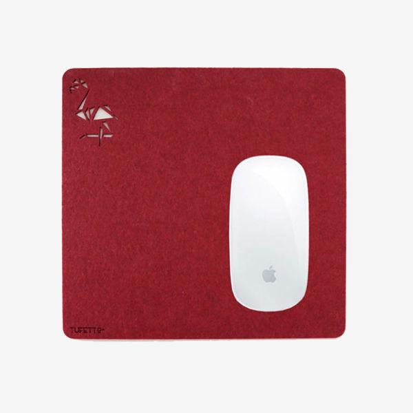 Work wıth Flamıngo Mousepad resmi
