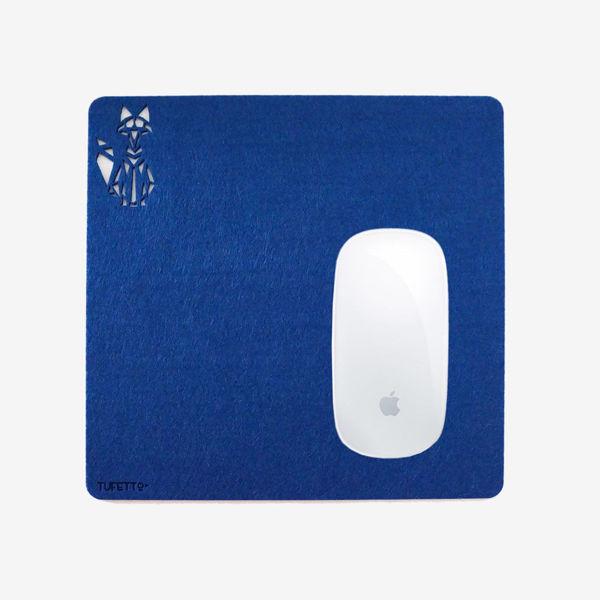 Work wıth Fox Mousepad resmi