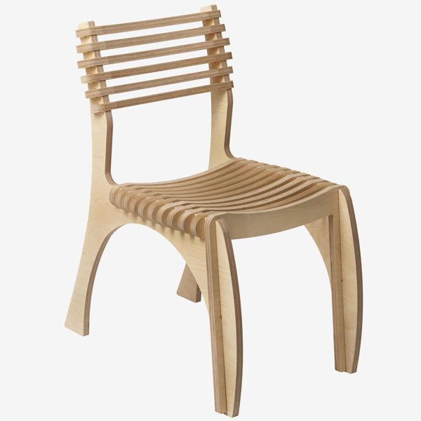 Venıce Ahşap Sandalye resmi