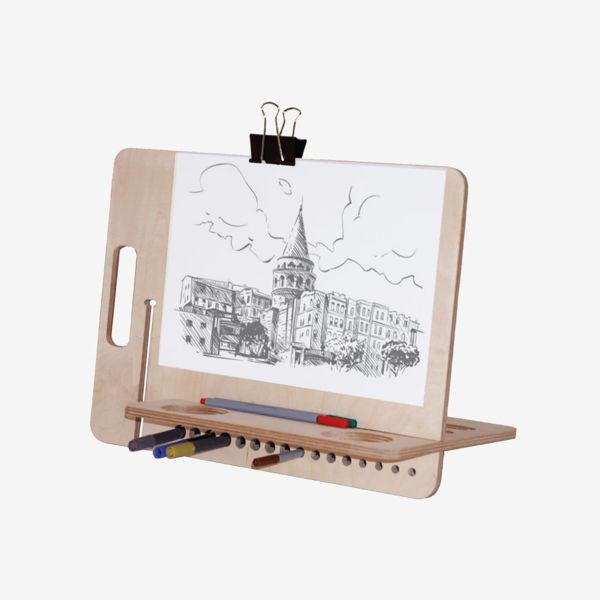 Kikomi Taşınabilir Çizim Tahtası, Resim Tuval, Şövale resmi