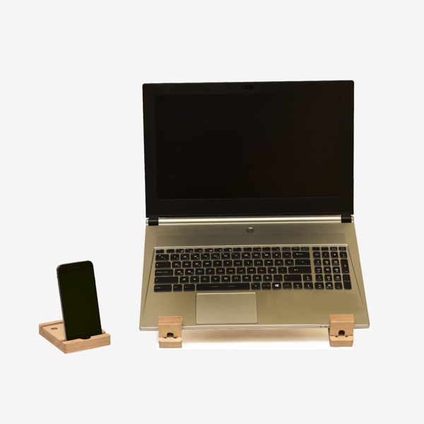 Mahi Mahi Laptop & Kitap & Telefon Standı 2'li Ürün resmi