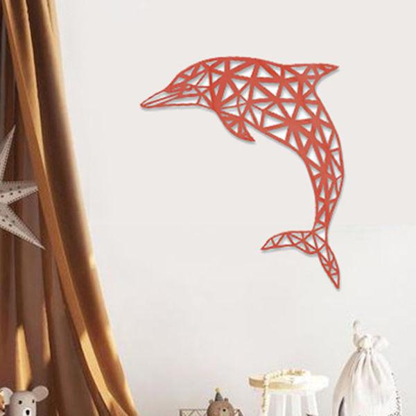 Origami Yunus Duvar Aksesuarı resmi