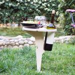 Hato Şarap Sehpası, Bahçe Masası resmi